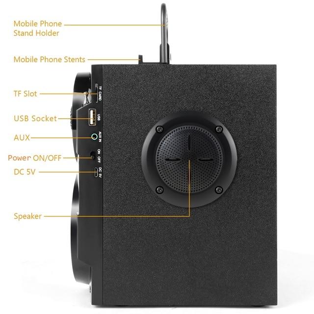 Bluetooth Speaker Powerful Subwoofer Bass 5