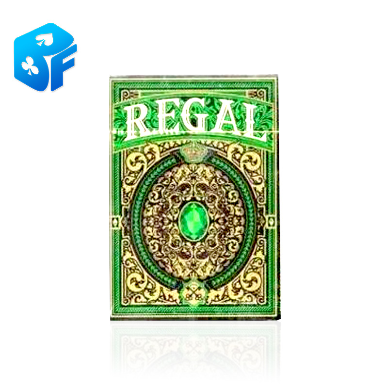 Regal Deck (Green) By Gamblers Warehouse Imported From US