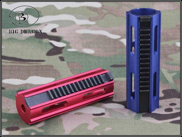 Emersongear Tactical Auminum CNC pełne stalowe zęby 14 zębów szybkobieżna przekładnia tłokowa AEG Airsoft akcesoria do zabawek