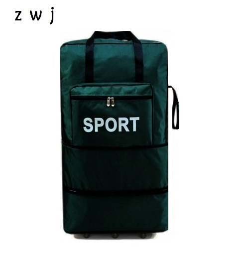 High Quality Brand Mens  Extra Large Wheeled Travel Duffle Fashion Abroad Moving Folding Oxford Bag Mens Travel BagHigh Quality Brand Mens  Extra Large Wheeled Travel Duffle Fashion Abroad Moving Folding Oxford Bag Mens Travel Bag
