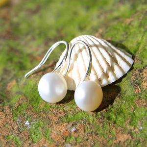 SEVEN GIRL earrings with pearl