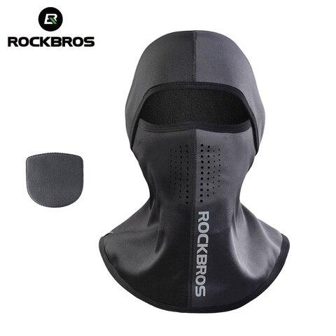 ROCKBROS Ski Mask Winter Thermal Fleece Full Face Cover Scarves Outdoor Balaclava Windproof Cycling Headgear Sport Equipment Pakistan