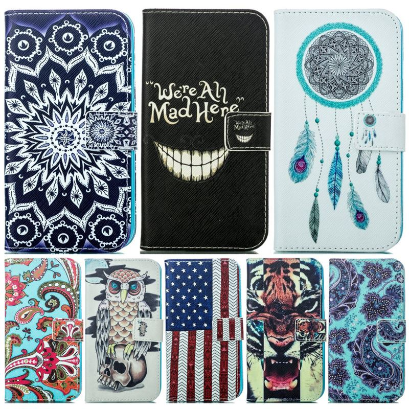 Cover Case For Samsung Galaxy G360 G361 G530 G531 J2 Prime G532F J1 J5 2015 Ace4 G357FZ Leather Wallet Flip Phone Fundas P23Z in Wallet Cases from Cellphones Telecommunications