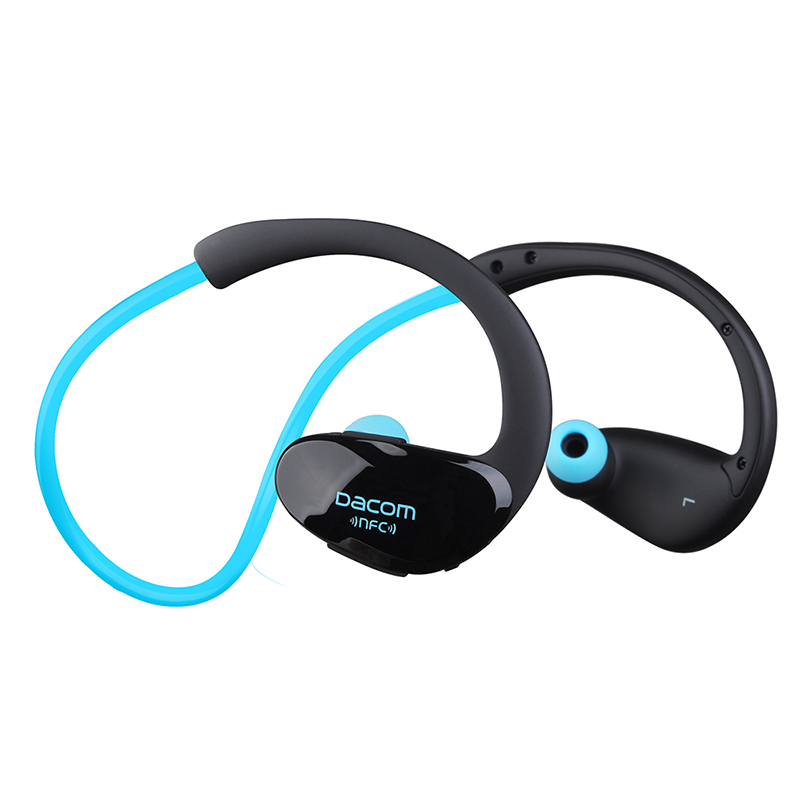 Dacom Athlete With NFC Waterproof Wireless Headphones Bluetooth V4.10 Headset Bluetooth Earphone Fone De Ouvido Hands Free wireless headphones bluetooth earphone sport fone de ouvido auriculares ecouteur audifonos kulaklik with nfc apt x
