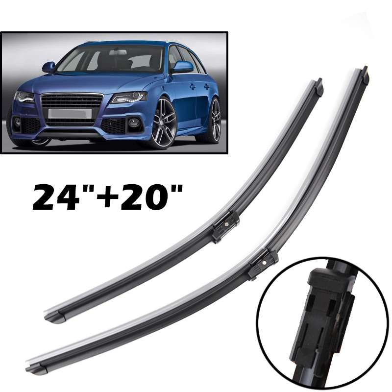 Misima Windshield Windscreen Wiper Blades For Audi A4 B8