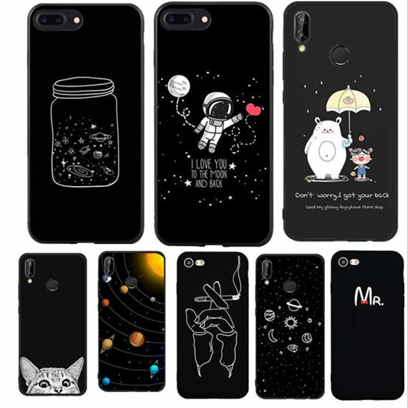 Phone Case For huawei p smart 2018 mate 10 lite case Cover Cell For Capinhas Huawei p20 lite p9 lite mini p10 lite Cover Back