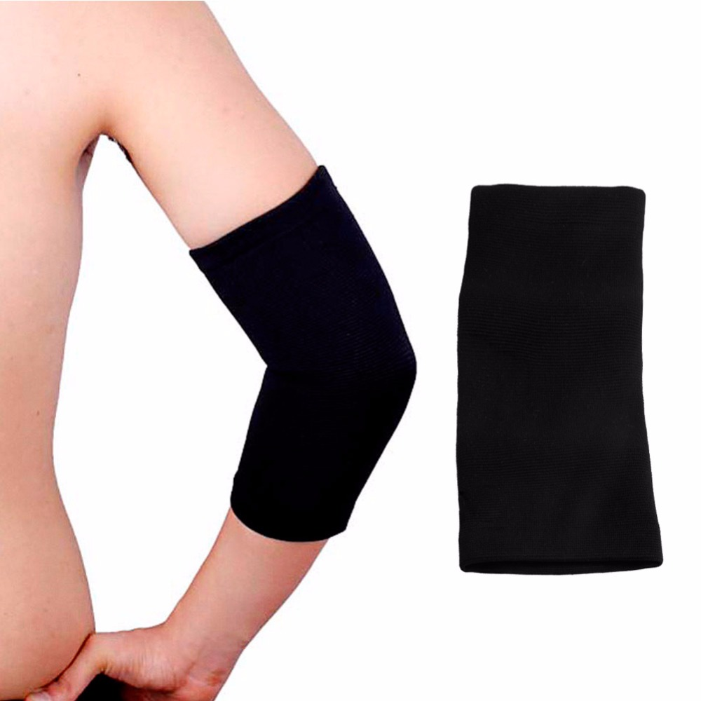 1PC Elastic Sports Black Elbow Sleeve Brace Support Arthritis Brace Sleeve Support Glove Elastic Palm Hand Wrist Supports