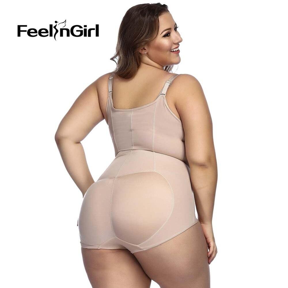 8f8a8791a93e1 2019 FeelinGirl 2018 New Arrival Bodysuits Sexy Shapewear Body ...