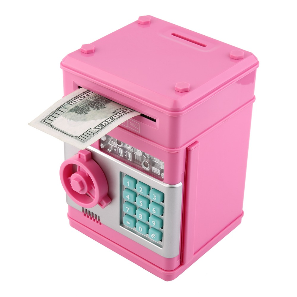 2017 7colors Kids Electronic Money Safe Box Password
