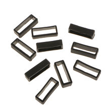 10Pcs Rubber Watch Band Loop  22mm Sillicon Strap Keeper Replacement Holder Ring End Accessories