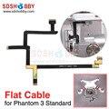 Partes cardán Cardán Uso Alambre Plano Cable Plano Reparación para DJI Phantom 3 Versión Estándar 3 S
