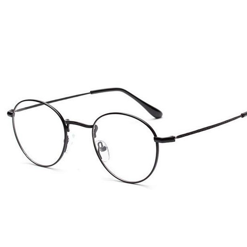 acd0f8f8c06 Ralferty Japan Ultra Light Metal Glasses Frame For Women Men Brand Designer  Round Myopia Optic Prescription