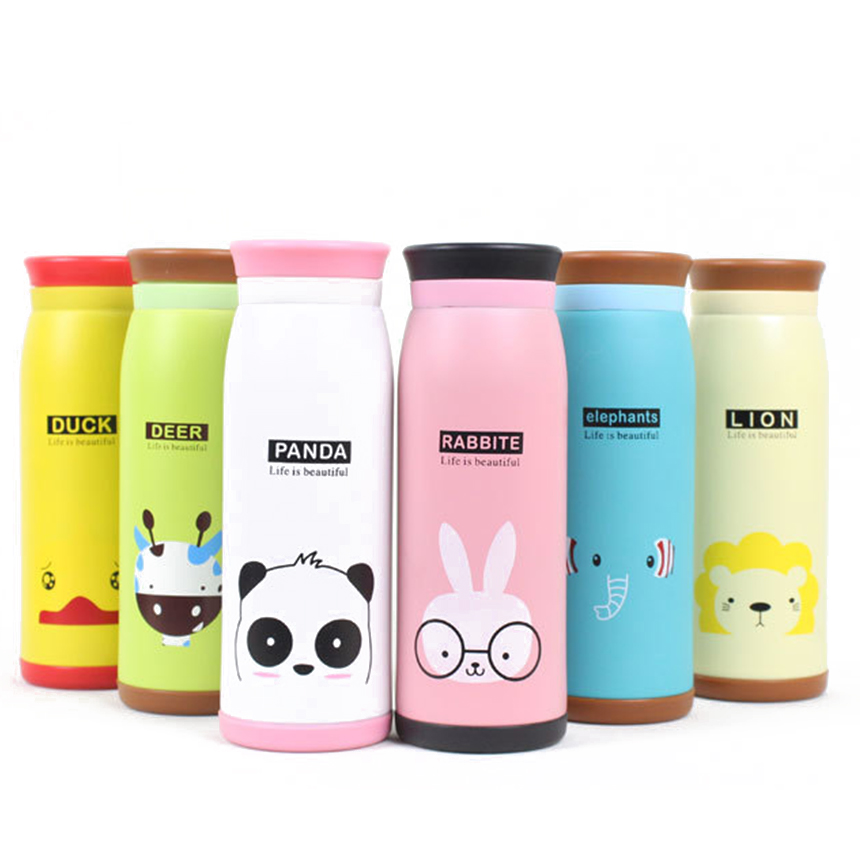 Child Thermal Bottles Insulation Cartoon Thermos Bottle Stainless - Kitchen, Dining and Bar