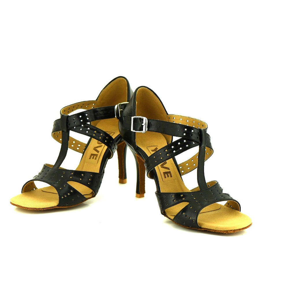 YOVE Dance font b Shoes b font Cow Split Women s Latin font b Salsa b