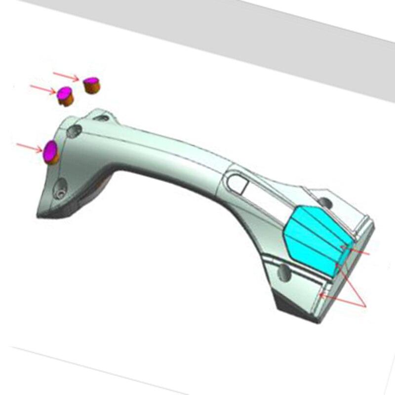 Pièces de réparation de monocycle électrique d'assemblage de guidon Ninebot Z10 Z8 Z6 d'origine