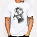 New 2017 Fashion Bruce Lee Design T Shirt Men's High Quality MMA T-shirts Hipster Tops Tees