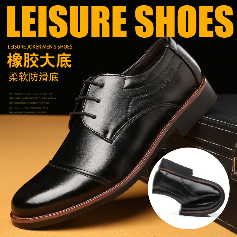 Formal Shoes Shoes 2018 New Fashion Style Designer Formal Mens Dress Shoes Genuine Leather Luxury Wedding Shoes Men Flats Office Shoes Lc9982-8803