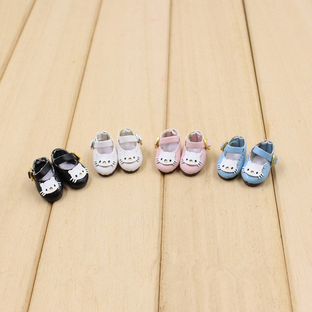 Middle 1/8 Doll cat Shoes Black Pink White F&D professional design Free shipping