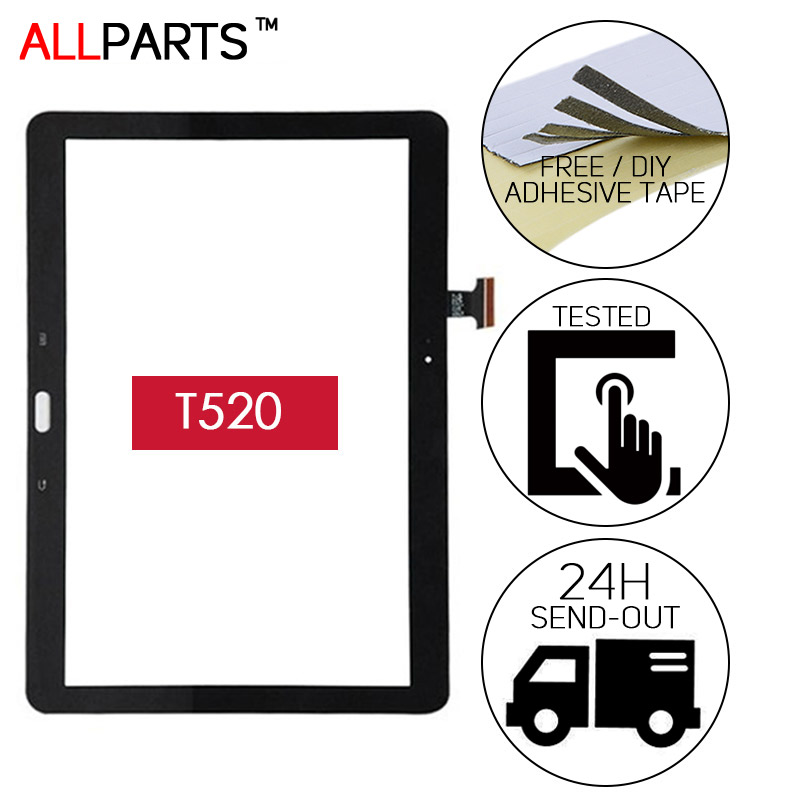 OGS 10.1 inch Black White Touch Screen For SAMSUNG Galaxy Tab Pro 10.1 T520 SM-T520 Touch Screen Digitizer Replacement Parts