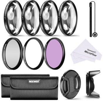 Neewer Filtro de lente profesional + Kit de accesorios Macro de primer...