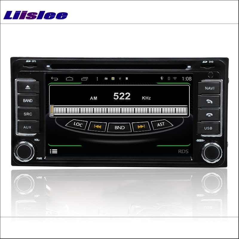 Liislee For Toyota 86 GT86 FT86 2012 ~ 2016 Radio DVD-spiller GPS - Bilelektronikk