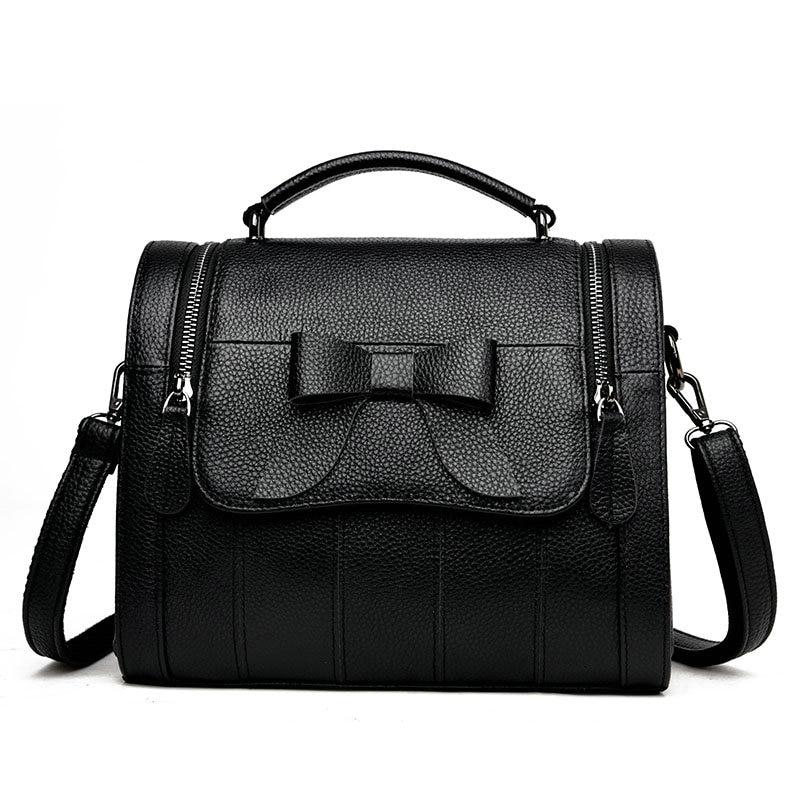2017 Women 100%Genuine leather handbags women bags messenger bags shoulder bag bolsas high quality handbag female pouch