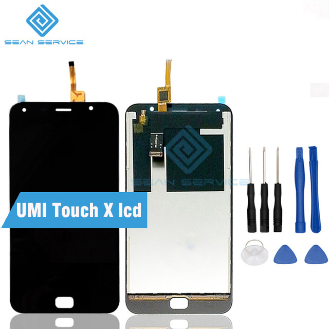 For UMI Touch X LCD Display and Touch Screen Digitizer Assembly lcds 100% Original UMI Touch X LCD + Tools Free shipping stock umi plus lcd display touch screen digitizer frame assembly 100