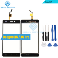 For Doogee X5 X5 Pro TP Touch Panel Perfect Repair Parts Tools Glass With Digitizer Sensor