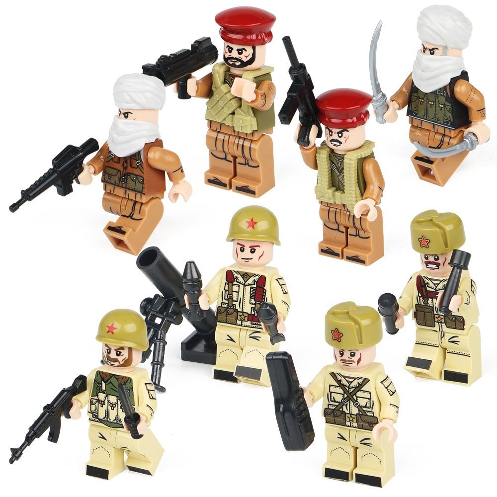 4pcs / lot SWAT Hərbi Şəkil II Dünya Müharibəsi Ordu - Uşaq konstruktorları - Fotoqrafiya 4