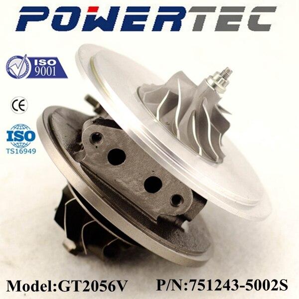 GT2056V 751243 турбо 14411EB300 14411-EB300 патрон Turbo основных комплектов для Ниссан Навара Pathfinde