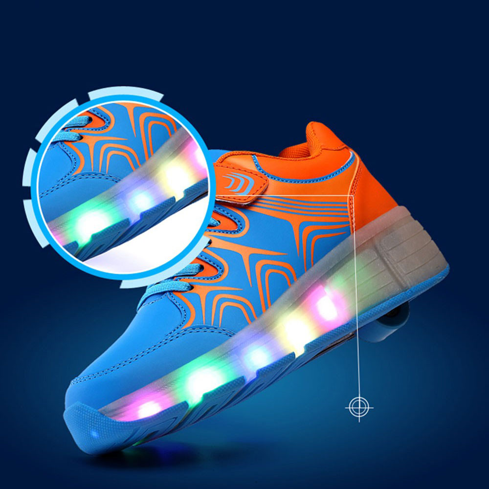 Roller shoes cheap - Cheap Children Heelys Shoes Kids Light Up Shoes Heelys Roller Shoes With Wheels For Boys Girl Sneakers Tenis Chaussure Enfant In Sneakers From Mother Kids