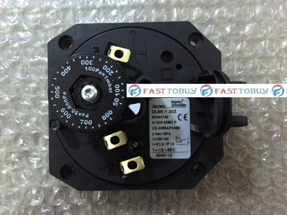 New Arrival Original Gas Pressure Switch DL8K-1 30Z For Burner New kp1 060 1103 060 110366 new and original pressure controller switch relay pressure switch 0 9 7bar
