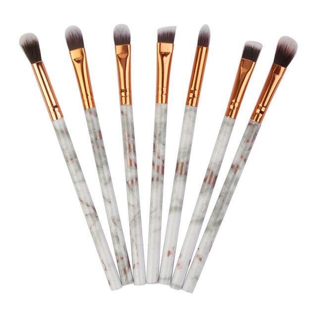 MAANGE pinceles de maquillaje 7 PC pinceles de maquillaje juegos de corrector de sombra de ojos de Fundación cepillo DEC31