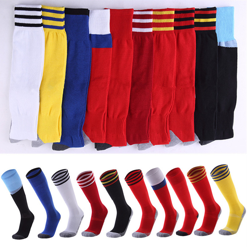 2018 Adult Kids Football Socks Sports Unisex Warm Winter Thermal Ski Socks Soccer Kids Socks Cycling Sports Leg Warmers Socks