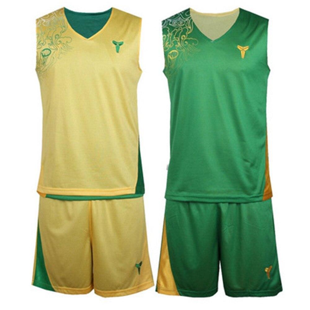 66cb96e027 2017 hombres camiseta de Baloncesto Reversible Establece kits de los Uniformes  Deportivos ropa de Doble cara de baloncesto jerseys trajes a Medida en ...
