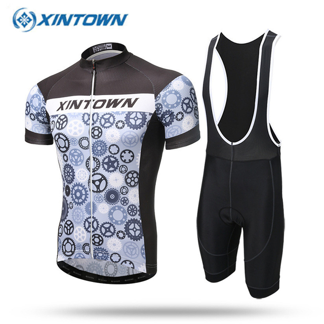 XINTOWN Cycling Jersey 2018 Summer Bicicleta Ropa Ciclismo Clothes British  Style Mountain Bike Sportwear Men T Shirt Mtb Bicycle 79173c211