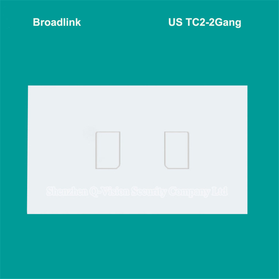 US/AU Wifi Broadlink TC2 1Gang 2Gang 3Gang Wireless Remote Control Touch Wall Light RF Switch Panel 110V 220V Rm Pro Smart Home