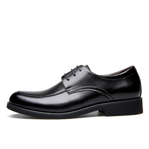 Image 2 - حذاء رجالي من الجلد الطبيعي من ROXDIA حذاء رجالي للعمل الرسمي حذاء أكسفورد للرجال طراز RXM063 بمقاسات 39 44