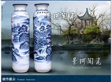 Bright future wedding gift move new home sitting room adornment high-grade large vase