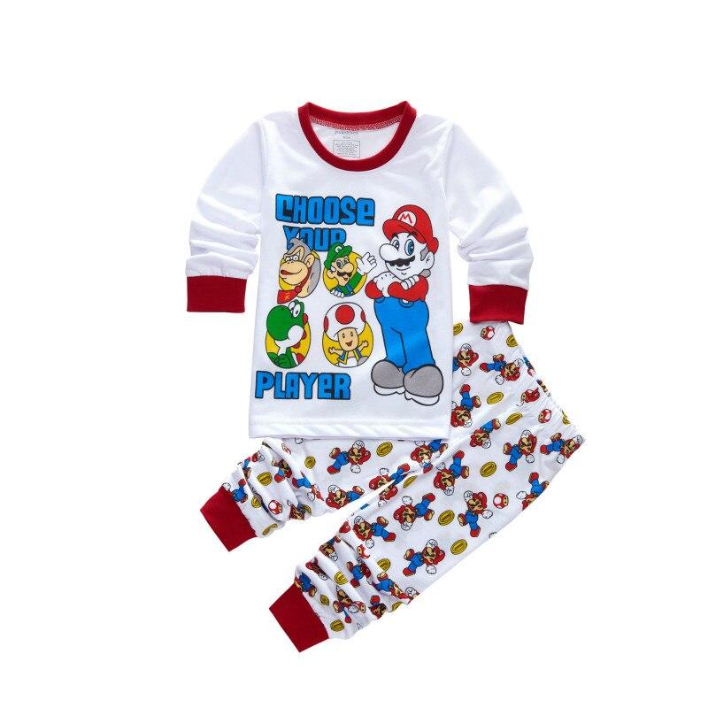 0caa3fbee0 2PCS New Arrival Toddler Boys Clothes Set Buzz Lightyear Kids Pajamas Set  Cartoon Woody Pijama Infantil Super Mario Bros Pijama-in Pajama Sets from  Mother ...