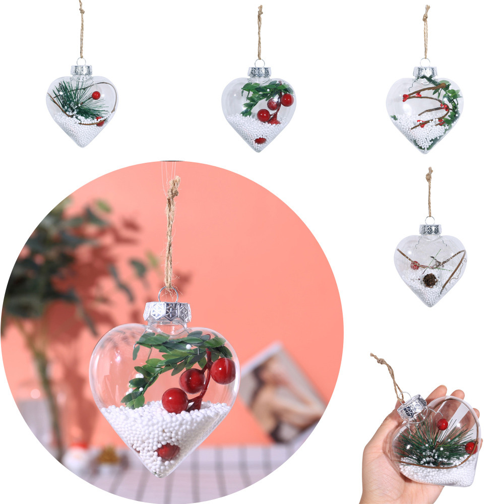 2019 love christmas tree pendant hanging ornaments party