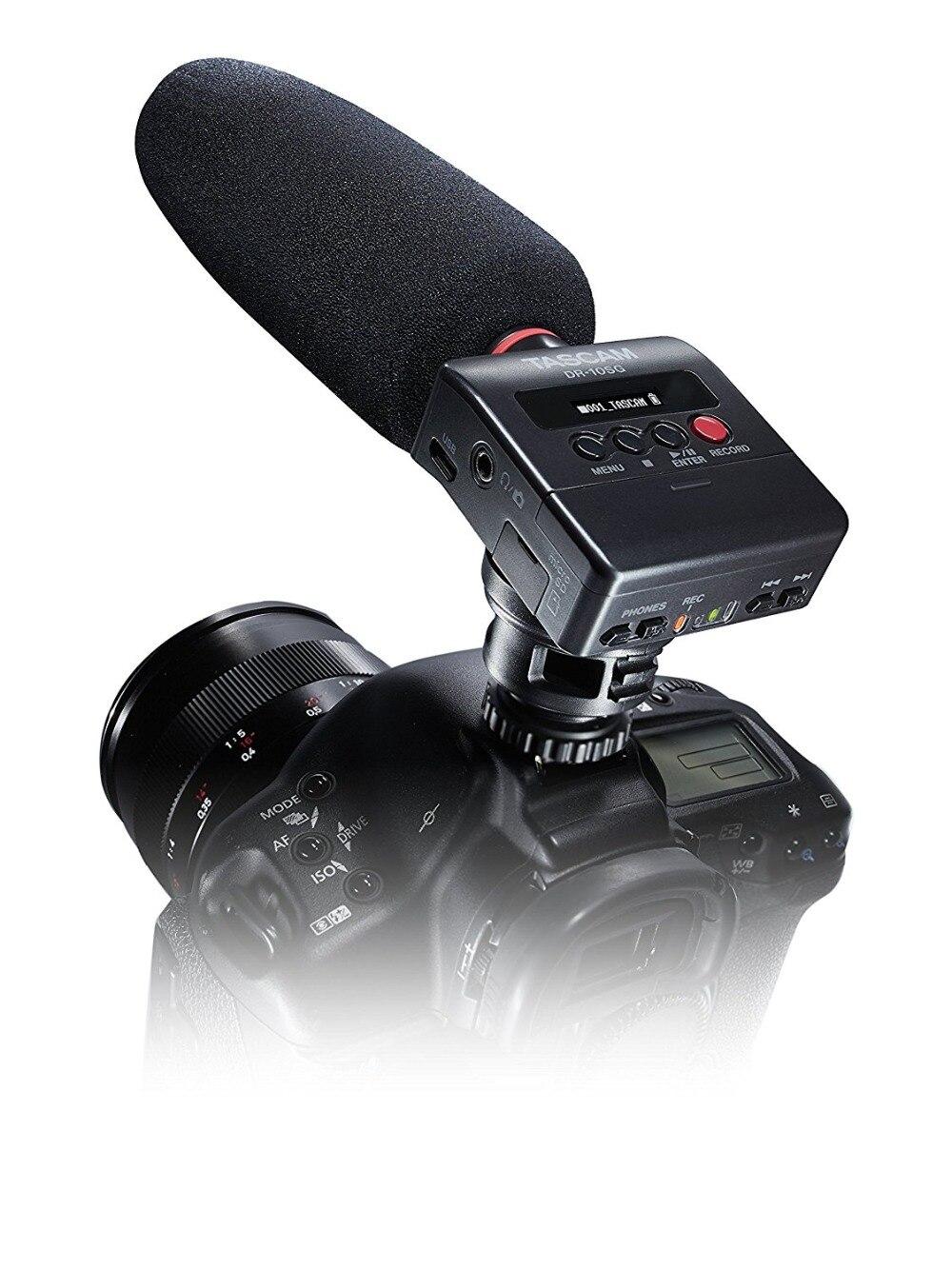 Gut Ausgebildete Tascam Dr-10sg Linear Pcm Recorder Shotgun Mikrofon & Digital Recorder Für Dslr Mit Geschenk 32 Gb Tf Karte Reinigen Der MundhöHle. Unterhaltungselektronik Digital Voice Recorder