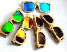 DAOYING Wholesale wood sunglasses(30pcs) New Bamboo sunglasses&Wood sunlasses with polarized lens DHL free shipping