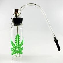 SWSMOK Glass Popular Bottle Water Pipe Portable Mini Hookah
