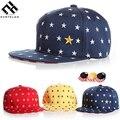 Novo 2016 Cinco Estrelas Menino Unisex Cap Para Cap Chapéu Da Menina da Criança bebê snapback chapéu criança chapéu do bebê boné de beisebol apto para 3-8 anos velho