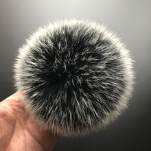 hot deal buy mppm real fox fur pompom genuine fur pom poms ball for hats&caps big natural fur pompon ball for shoes bags accessories