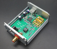 HIFI AUDIO Supply Voltage Asynchronous USB XMOS U8 DAC Coaxial Optical Fiber Digital Interface MuRata Audio