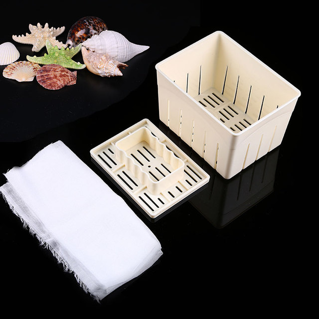 1 satz Tofu Box DIY Machen Tofu Form Küche Kochen Werkzeuge Milchig ...