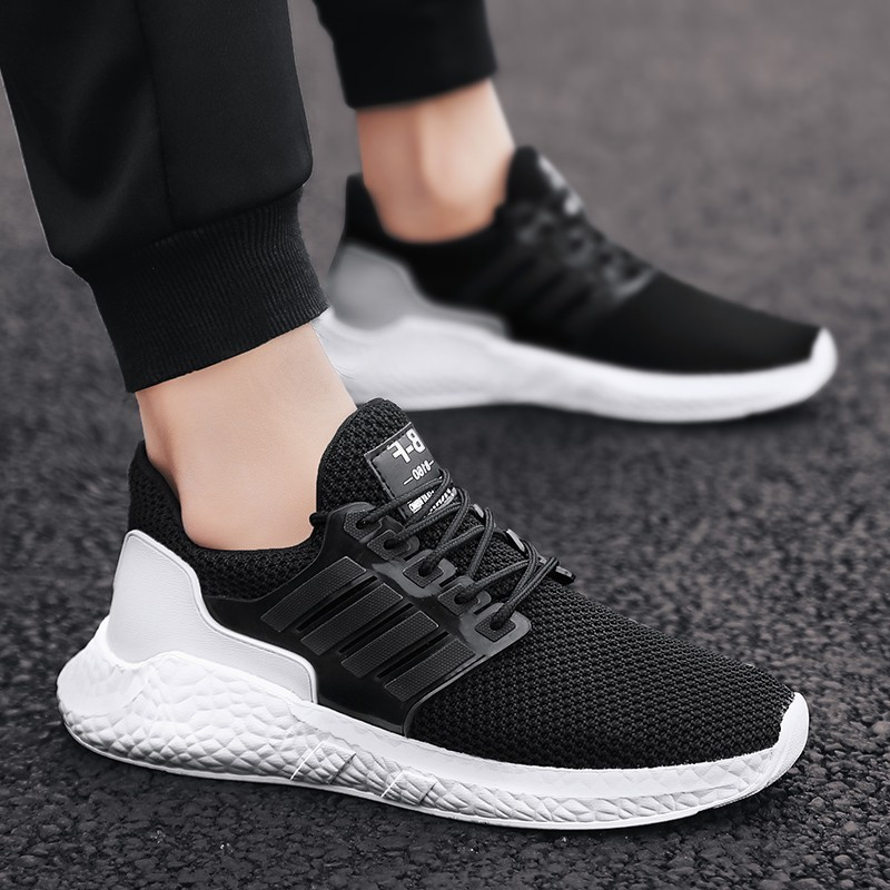 hot sell men Sneakers Athletic Fitness jogging footwear Breathable mesh Outdoors masculinos Running shoes adults Sports shoes(China)