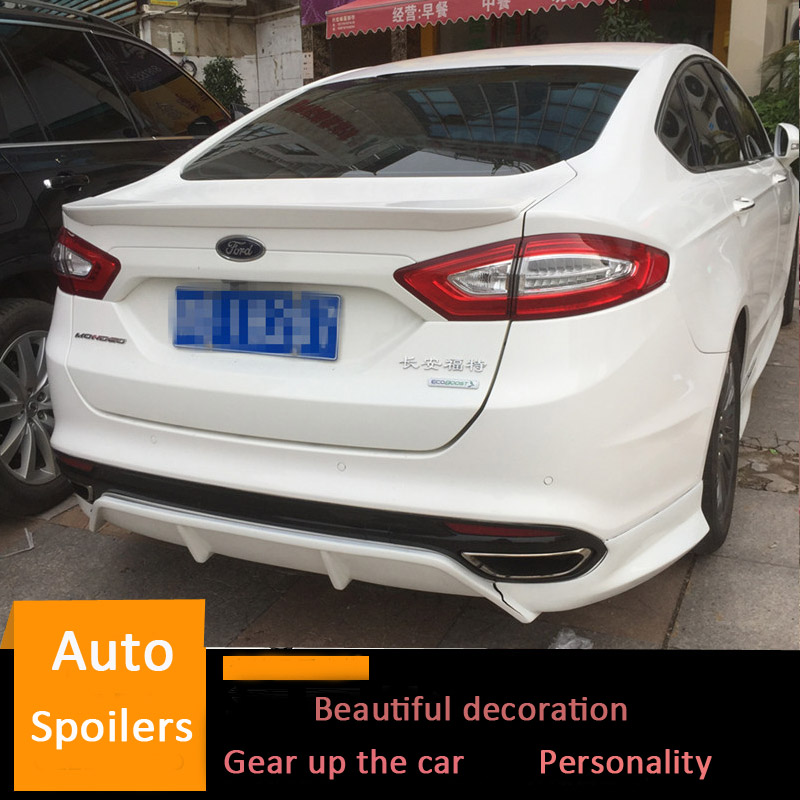 UN-PAINTED PRIMER for FORD FUSION 2010-2013 SPOILER WING NEW